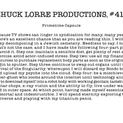Chuck Lorre Productions, #411.