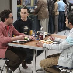 Leonard, Sheldon and Raj.