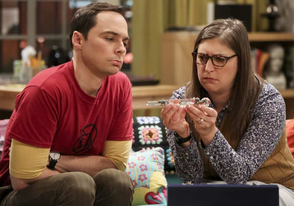 Sheldon And Amy Wedding.The Wedding Gift Wormhole The Big Bang Theory Wiki Fandom