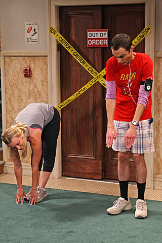 File:Sheldon and Penny Stretching.jpg