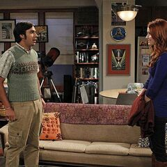 Raj gets a girlfriend; scary horror movie loving Emily.