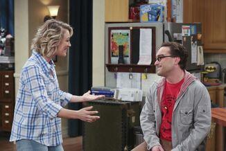 Leonard talks to Penny