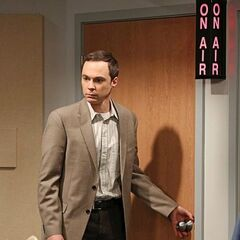 Sheldon walking out on NPR.