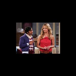 Raj likes Alicia.