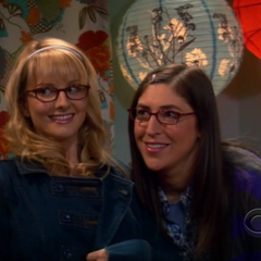 Amy and Bernadette.