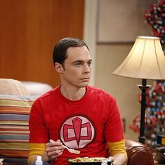 Sheldon perplexed, again.
