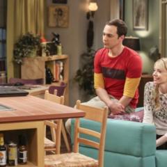 Sheldon and Ramona talking to Amy.