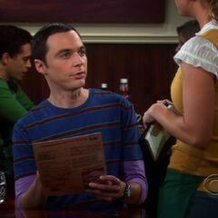 Sheldon and Penny.
