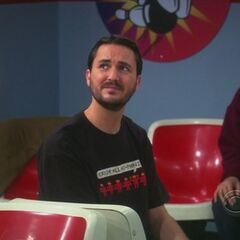 The evil Wil Wheaton.