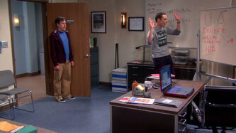 Sheldon chanting Nobel