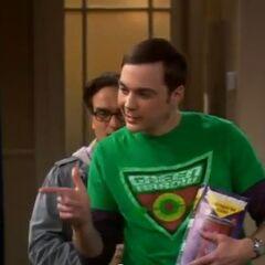 Sheldon's way of saying