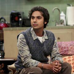 Leonard can't persuade Raj.