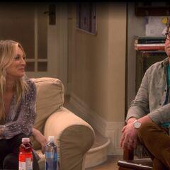Sheldon we're busy.