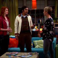 Raj wants the two women in his life to get along.