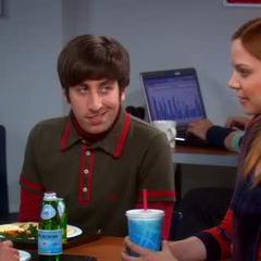 Howard hitting on Ramona.