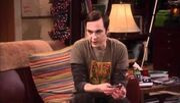 Sheldon explaining the book