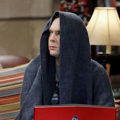 Angry Sheldon channeling the Star Wars emperor.