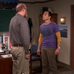 Standing up to Bert.
