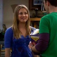 Penny hopes for a rare 'Sheldon Cooper hug'.