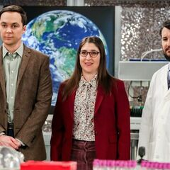Dr. Sheldon Cooper and Dr. Amy Farrah Fowler.