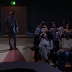 Raj introduces Howard.