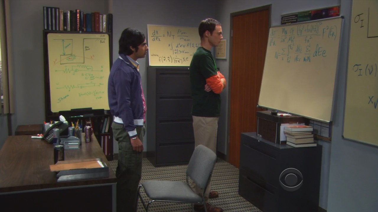 Awesome Big Bang Theory Office Supplies Designs