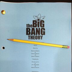 The front page of the script of this episode.