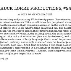 Chuck Lorre Productions, #242.