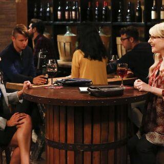 Ruchi meeting Bernadette for drinks.