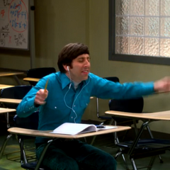 Since Sheldon is a lousy teacher; Howard is being a lousy student.
