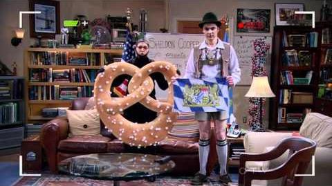 The Big Bang Theory - Bavarian Fun With Flags