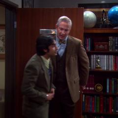 Raj looking into a new job.