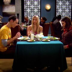 Penny continuing on Sheldon and Amy's first date.