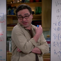 Leonard getting Sheldon to focus on what's written down again.