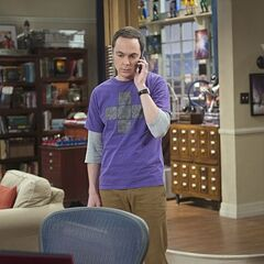 Sheldon calls Amy about her time-out.