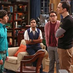 Howard vs. Sheldon.