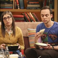 Sheldon says that Amy is right, but no one else witnessed it.