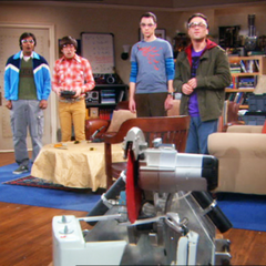 The TBBT creation.