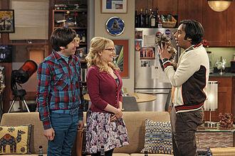 The Transporter Malfunction - Raj, Howard and Bernadette