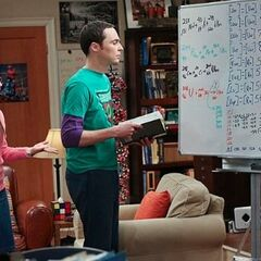 Sheldon realizes he made a mistake.