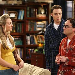 Penny knows Leonard and Elizabeth slept together.