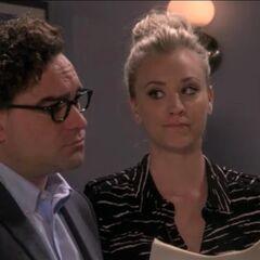 Listening to Sheldon's eulogy.