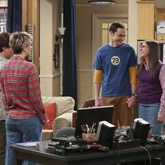 Sheldon and Amy are starting  a family.