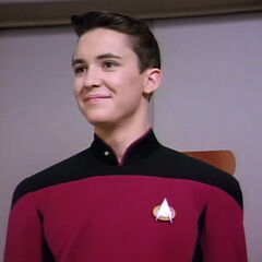 Ensign Wesley Crusher.