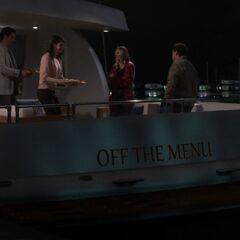 Zack's new boat.