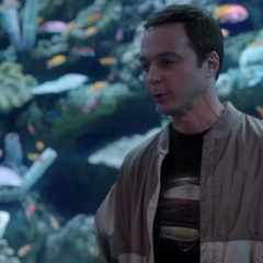 Shamy enjoying each others company at the aquarium.