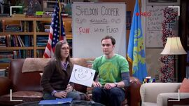 BBT - Amy with funny flag