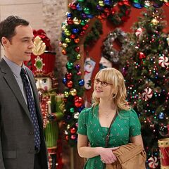 Bernadette takes Sheldon shopping to buy something to hurt Amy with.