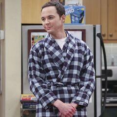 Sheldon is feeling much better.