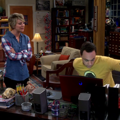 Sheldon refuses to tell Penny about his idea